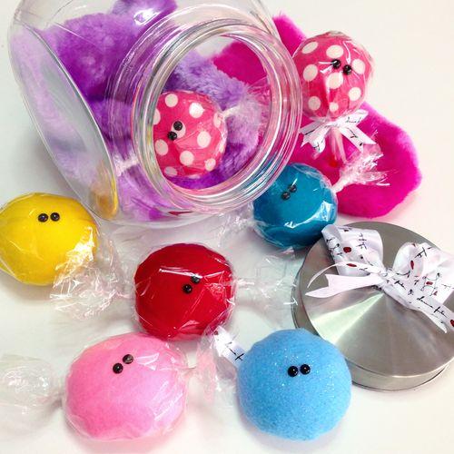 Candy Sweet Handmade Handsewn Cute Plush