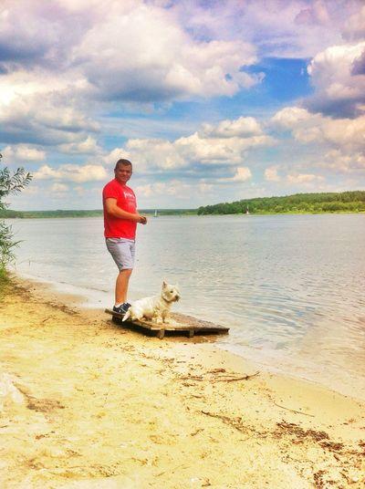 Lake Westie Enjoy The View