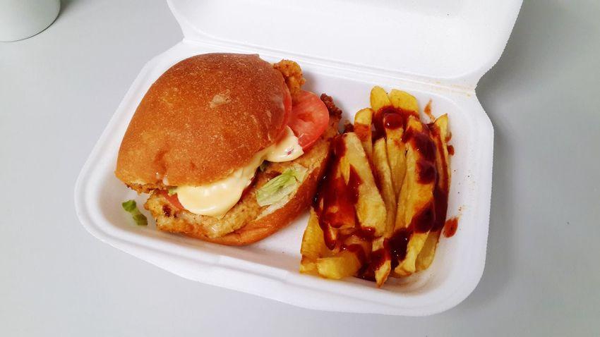 Street Food Worldwide Big Boy Burger French Fries Buns On The Go  Chicken Burger Bread Roll