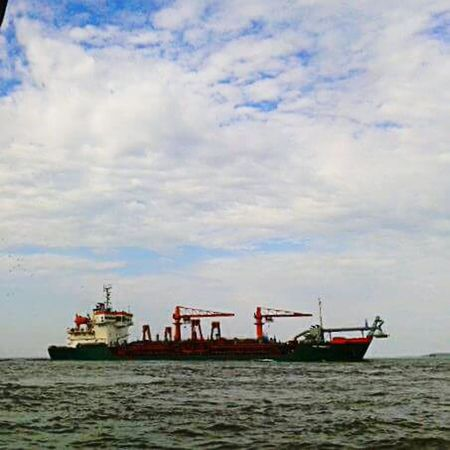 Sea Nautical Vessel Transportation Offshore Platform Oil Industry Sailing Water Business Finance And Industry Shipping  Industry No People Floating On Water Outdoors Nature Sky Day