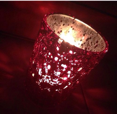 Redglass Candle