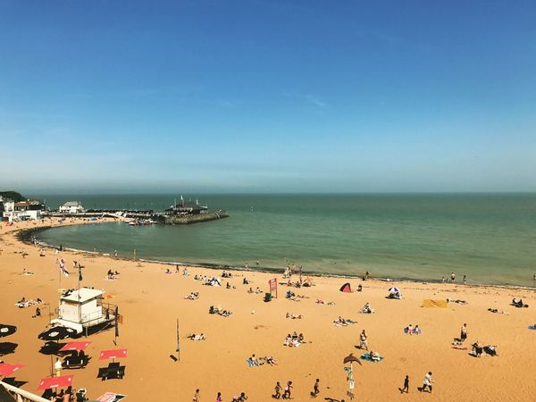 Sea Water Horizon Over Water Nature Beach Outdoors Sand Sky Day Beauty In Nature Summer Uk Broadstairs