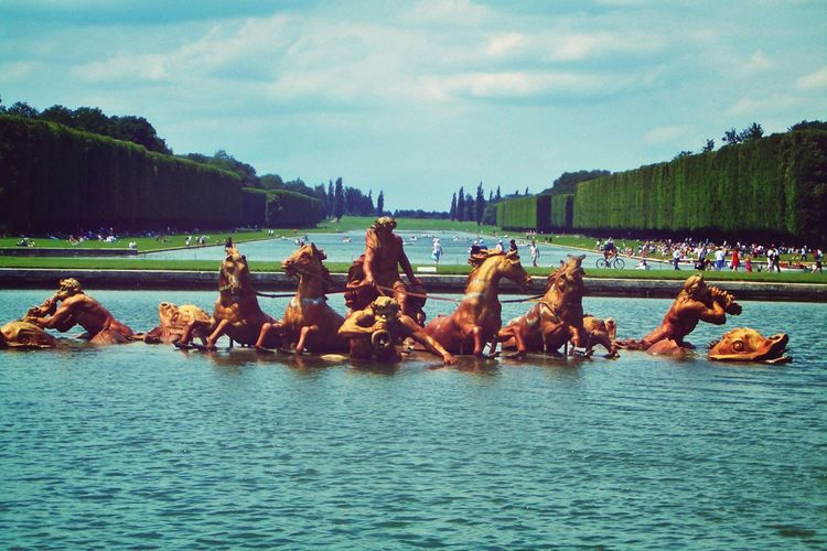Fountain Of Apollo At Palace Of Versailles