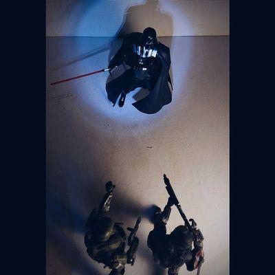 Vader encounter view 2.. ______________ Halo Halotoys Vs Starwars Darthvader Spartan Toyphotography Toyfusion Toyelites Toyslagram Toyslagram_Starwars Toyz Toysphoto Toys_malaysia Toyplanet Toys_alliances