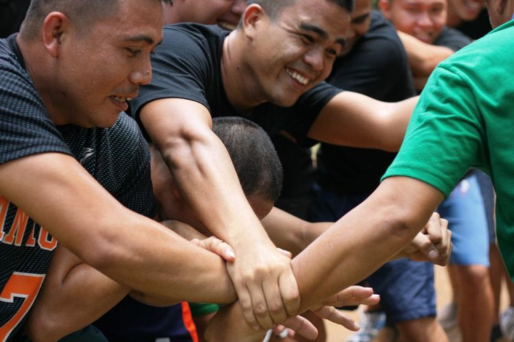 The Week On EyeEm Teamwork Togetherness Unity Sports Team Connection Eyeem Philippines People Real People Getty Images Competition Athlete Men Partnership - Teamwork This Is Masculinity