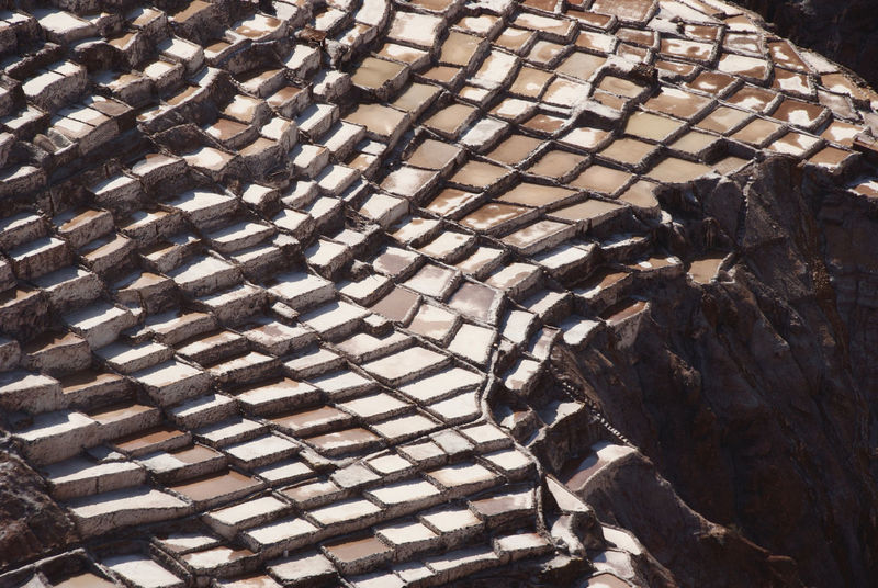 Salinas Cuzco - Peru Salt Backgrounds Brown Close-up Day Full Frame Incas No People Outdoors Pattern Terraces White