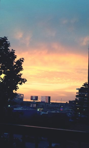 Beautiful Sunset View From My Office 10/2/2014