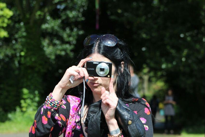Taking Photos My Frend Karen