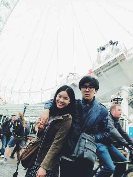 London Eye Enjoying Life Hello World Cute Couple