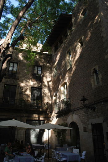 Architecture Barcelona Barcelona, Spain Building Building Exterior Built Structure Catalonia Catalunya City Day No People Outdoors Shadow Sky SPAIN Travel Destinations Tree