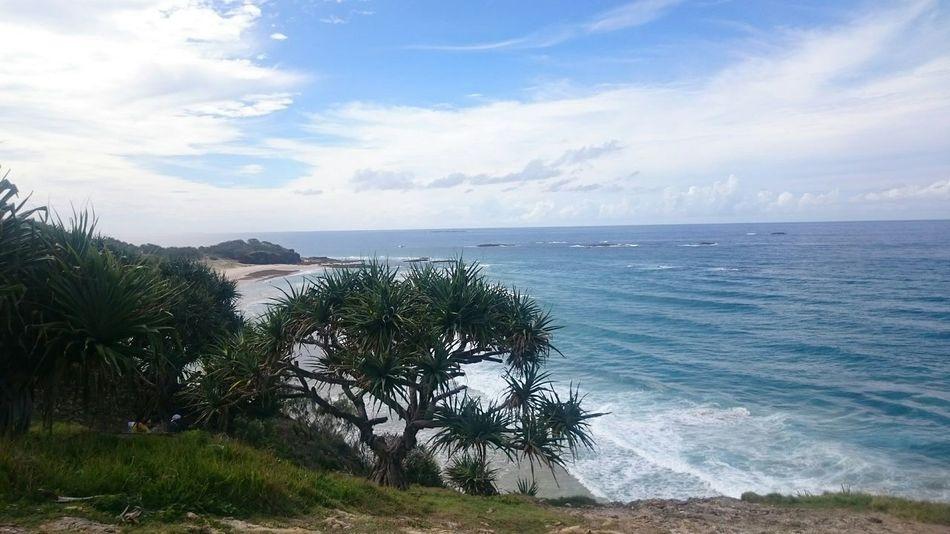 Ocean View in Australia Straddie Lost In The Landscape