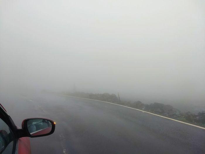 cloudy monsoon Water Fog Sky