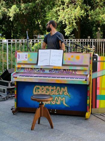 Playing Piano Piano Time Milan,Italy