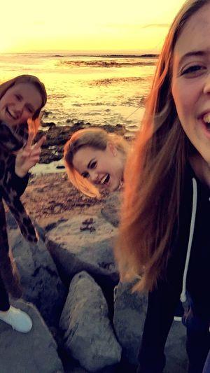 Friends Sunset