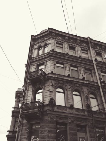 смотри вверх Ты найдешь меня на Невском Architecture Питер