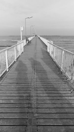 Sea Beach Outdoors Pier No People Sky Horizon Over Water Day Nature Bird Leica Lens Leicap9