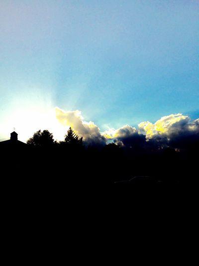 Outdoors Dark Landscape Sky Emitting