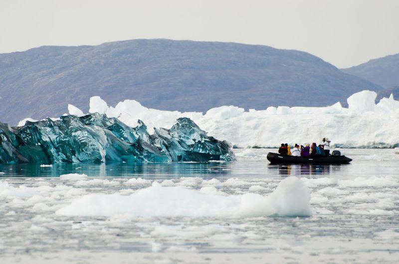 Black Ice - Scoresby Sound - Greenland Greenland ScoresbySund Arctic Black Ice Iceberg Polar  Scoresby Scoresby Sound