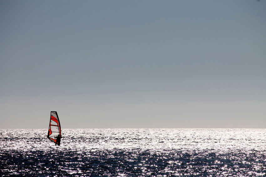Horizon Horizon Over Water S Sea And Sky Sport Time Sports Photography Summer Windsurfing