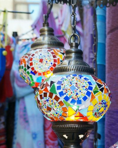 Turkish lamp. Multi Colored Vibrant Color Colorful Selective Focus Colours Color Photography Lightings Lighting Design