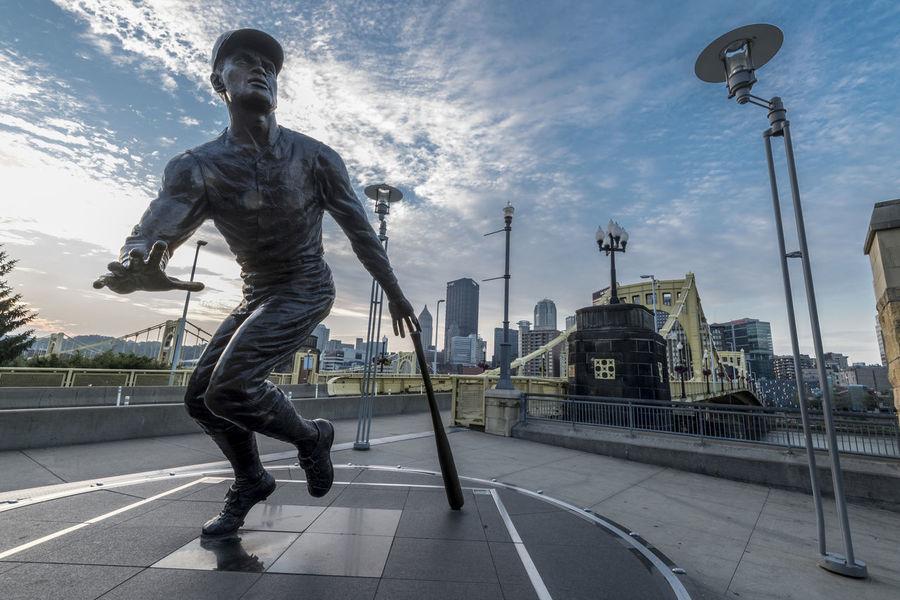 Baseball PNC Park Perspectives on Nature Pittsburgh Pittsburgh Pennsylvania Statue Ballgame Monument