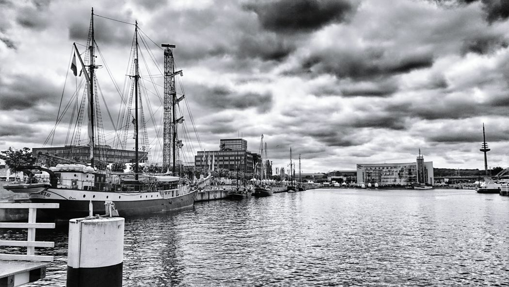 Black And White Photography Black And White Collection  Blackandwhite Boats Kiel Kieler Woche
