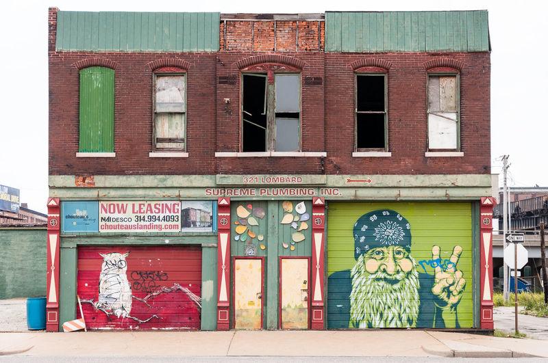 Abandoned Buildings Adult Architecture Architecture Bandana Building Exterior Day Hippie ✌ History Architecture Owl Art Plumbing Stlouis Streetart Urban Windows And Doors APS-C DSLR