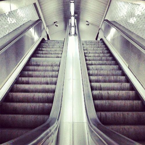 Metro Subway Madrid Stairs