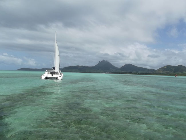 Boat Catamaran Catamaran Cruise Journey Mauritius Mauritiusisland Ocean Indien Sailboat Sailing Sea Tourism Water île Maurice