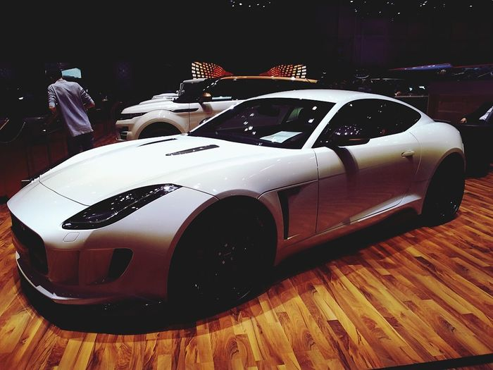 JAGUAR Jaguar F-Type Coupè Startech Preparation  Mate White GenevaInternationalMotorShow2015 GIMS2015 Swiss