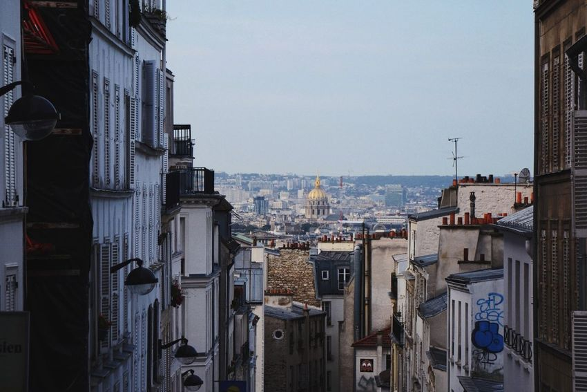 Echoes of a Morning View Paris Montmartre Urban Landscape Walking Around