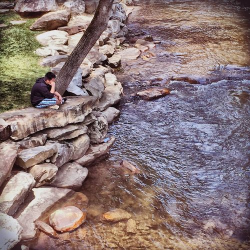 iPhone 6 Lonely River Water Thinking Nature EyeEm Nature Lover Peaceful