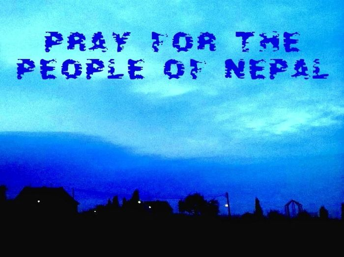 PrayforNepal Pray For Nepal For My Friends That Connect HDR Sky And Clouds Hdr_Collection Clouds And Sky Good Morning! Good_morning Good Morning World!