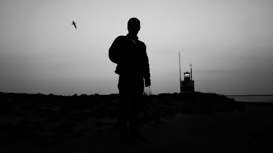 Blackandwhite Blackandwhite Photography MIB Person Portrait Check This Out Hello World Taking Photos Photography Photoshoot Lightroom Adobe Landscape_photography Contrast Highcontrast Edit Pose Bird Sea Clear Sky Hi! Lumix Lumixlx100 Panasonic  Ijmuiden Aan Zee