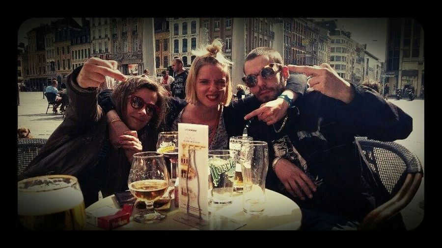 Notes From The Underground Enjoying The Sun Beer Friends Rennes/Lille/Paris the team
