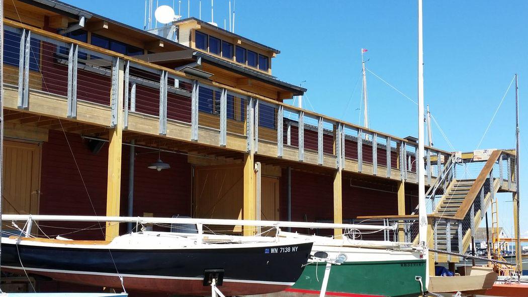 Boatyard in Pt Townsend Architecture Nautical Vessel Boats Boat Restoration Sailboat Restoration Project Boatshop