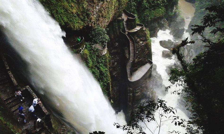 Pailon del Diablo Ecuador Ecuador BañosEcuador Water Power In Nature Nature World First Eyeem Photo