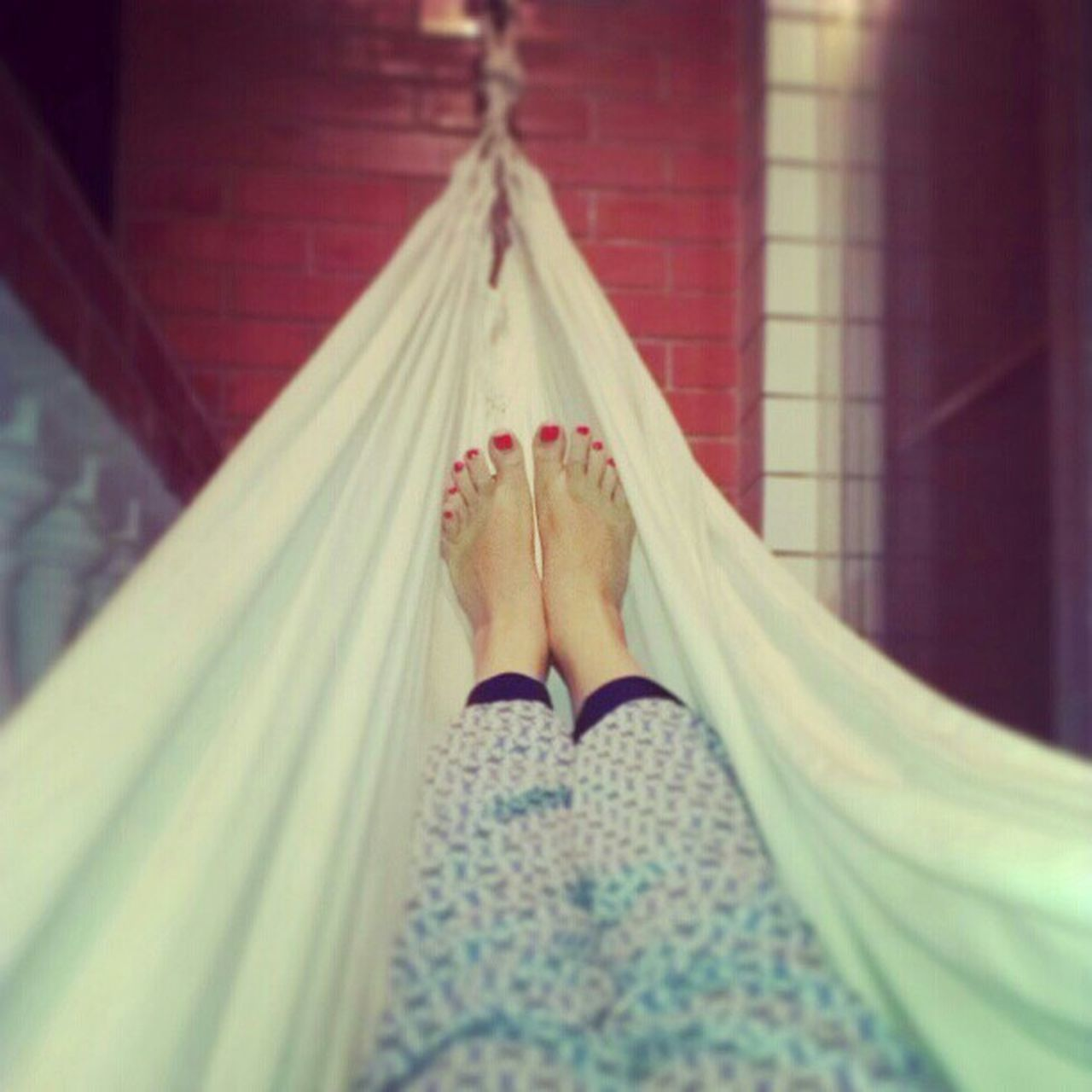barefoot, low section, human foot, human leg, human body part, one person, personal perspective, one woman only, indoors, real people, adults only, people, day, hanging, pedicure, adult, only women, close-up