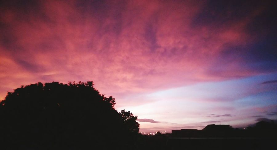 Sunset Sky Red Sky Maghrib Hello World Just Taking Pictures Look At This Sky!  This Is Indonesia Do You See What I See? Hahahaha 😂😂😂😂😂 Hahaha :-)  Keep Smiling Even When Everyone Wants To Bring You Down!