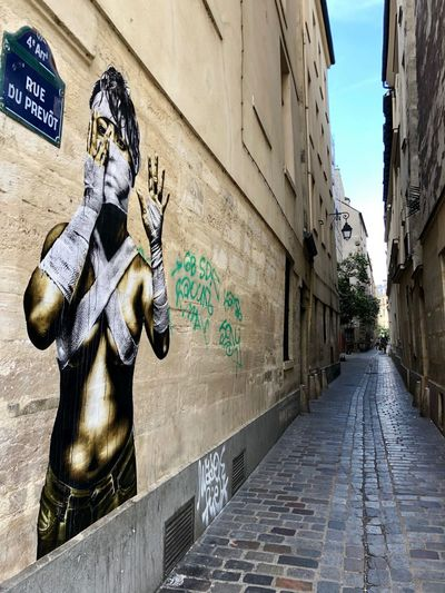 Street art in
