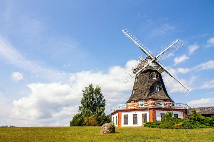 Windmill, Klütz, Germany Architecture Day Germany Germany, Kluetz Klūtz Landscape Mecklenburg-Vorpommern Nature No People Nobody Windmill Windmühle