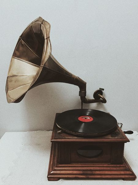 Old-fashioned Retro Styled Music Record Gramophone Turntable Indoors  Table No People Record Player Needle Close-up Day Music Soul Old Ancient Vintage Hmv Place Of Heart Breathing Space Mix Yourself A Good Time