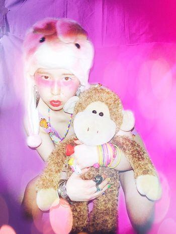 KANO Self Selfie Selfies Selfie ✌ Self Portrait Selfportrait Rabbit Animals Me Pink