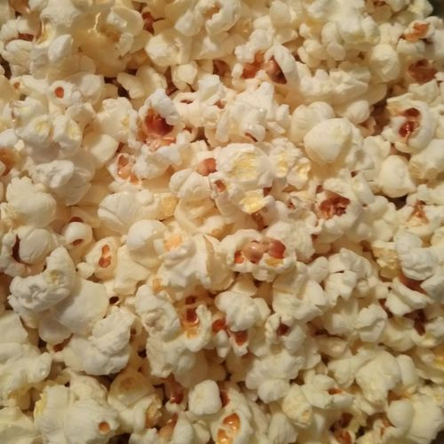 Food Salty Popcorn Salt Healthy Eating Backgrounds Full Frame Close-up Popcorn MOVIE Movie Theater