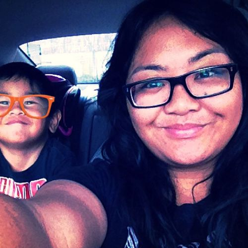 """Ateh, where's your phone? I wanna take pictures. :)"" Lmao, love my brother. Babybro Camerawhore Hesonlythree Myboboy mine shellparkinglot lol saycheese"