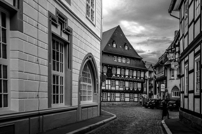 Germany Goslar Goslar Germany Old Town Tourism Monochrome Photography The Street Photographer - 2017 EyeEm Awards Place Of Heart The Architect - 2017 EyeEm Awards Your Ticket To Europe