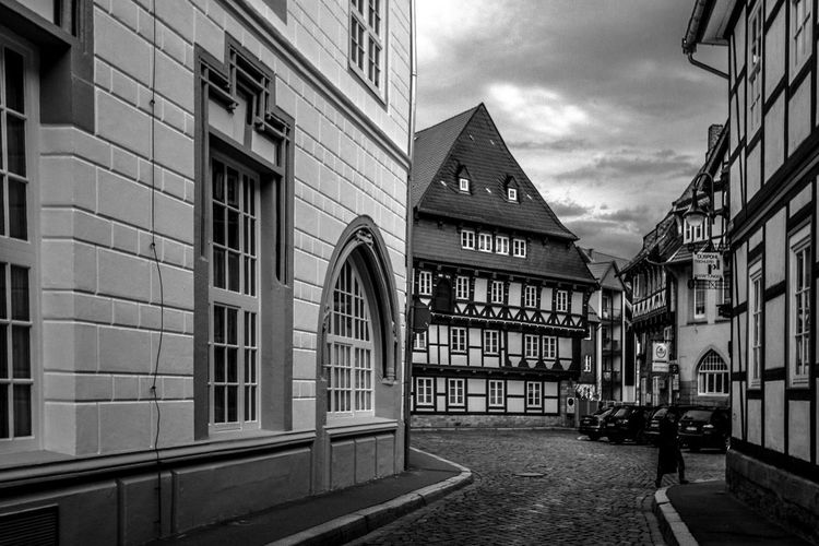 Germany Goslar Goslar Germany Old Town Tourism Monochrome Photography The Street Photographer - 2017 EyeEm Awards Place Of Heart The Architect - 2017 EyeEm Awards Your Ticket To Europe
