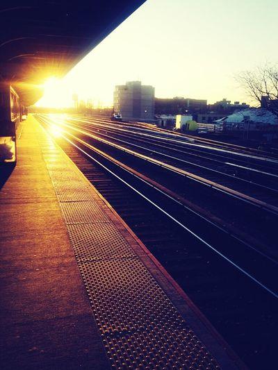 Sunset NYC Newyork