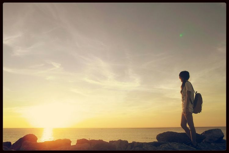線西鄉 Sunset Sea