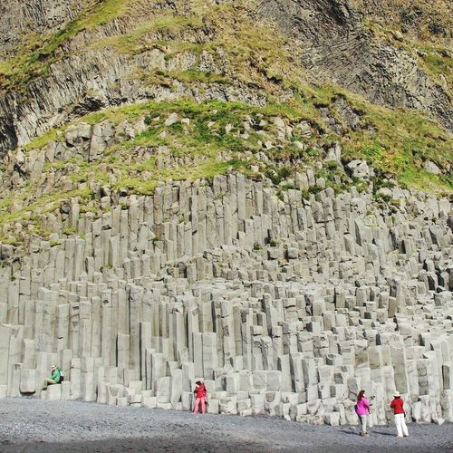 Iceland Wanderlust Shot Nature Rocks Greenery
